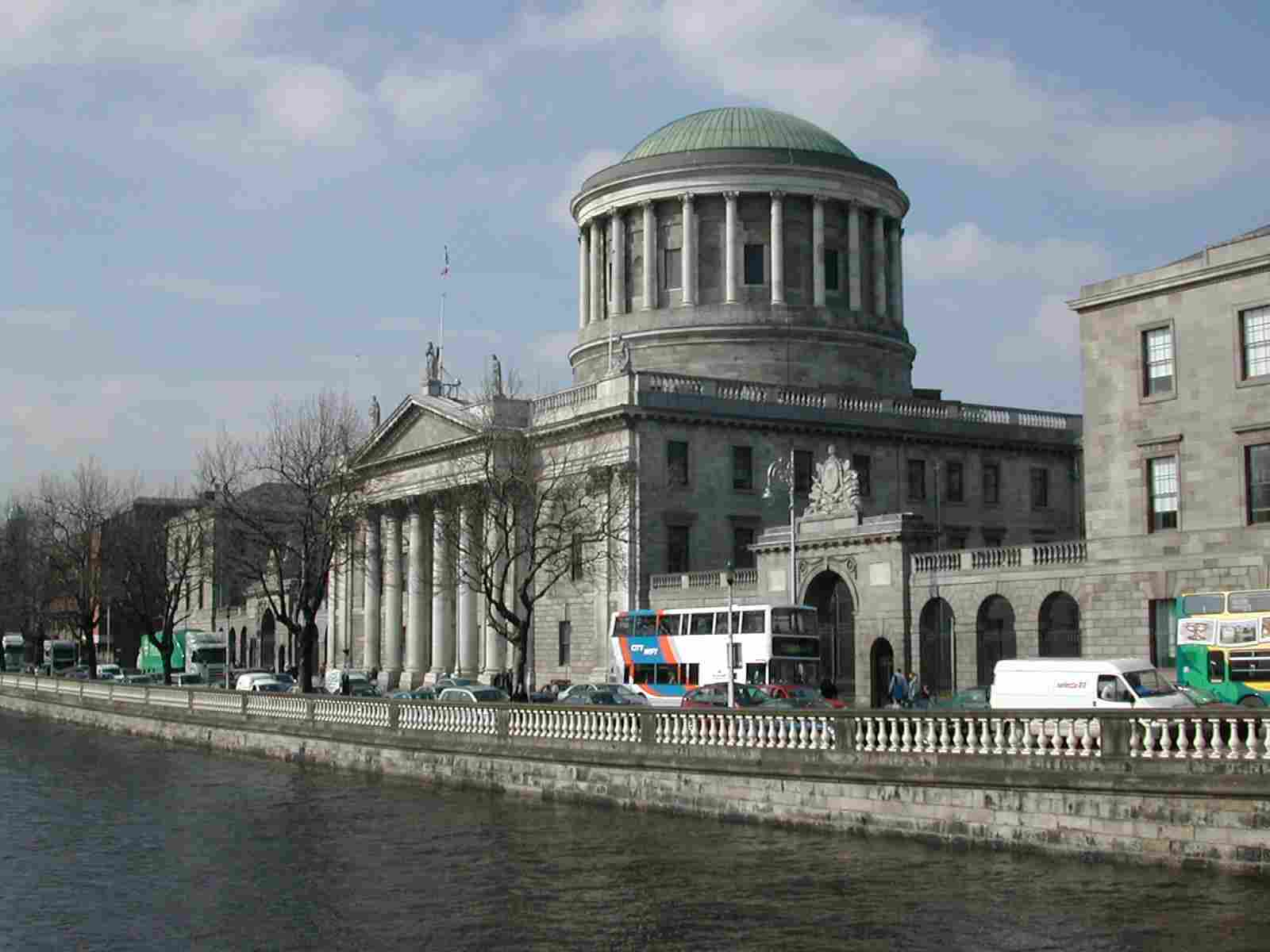 The Four Courts by the Liffey, Dublin
