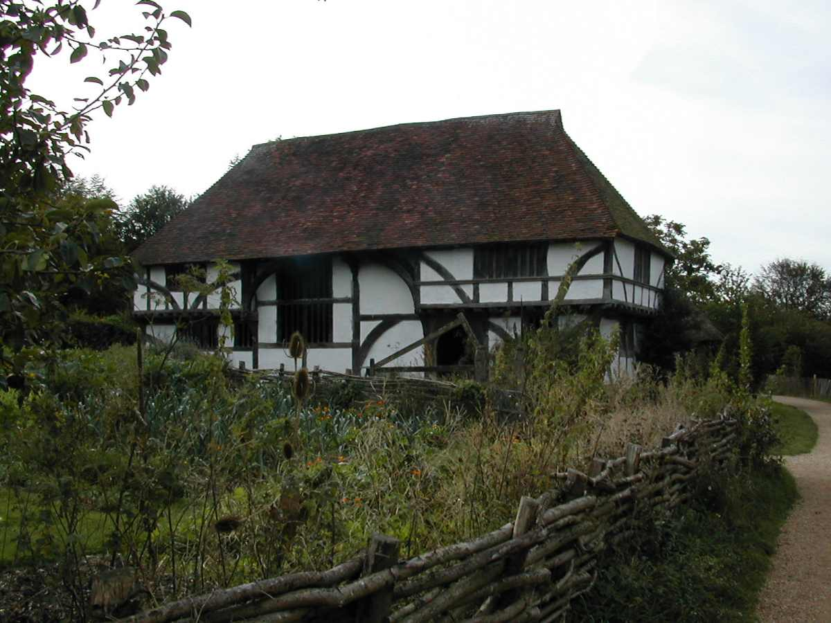 Tudor Farmhouse at the Weald and Downland Museum